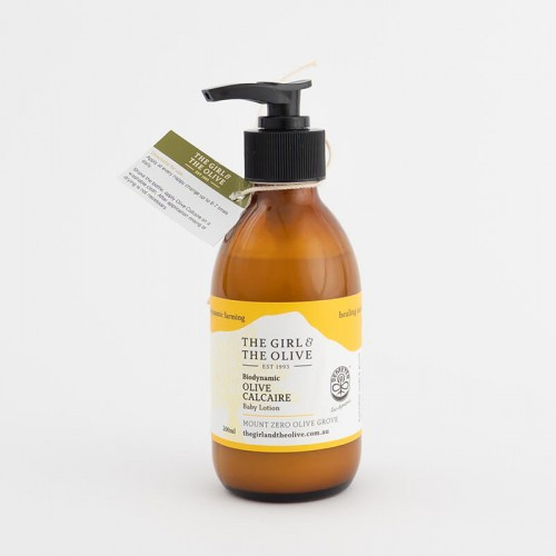 Biodynamic Baby Olive Calcaire lotion